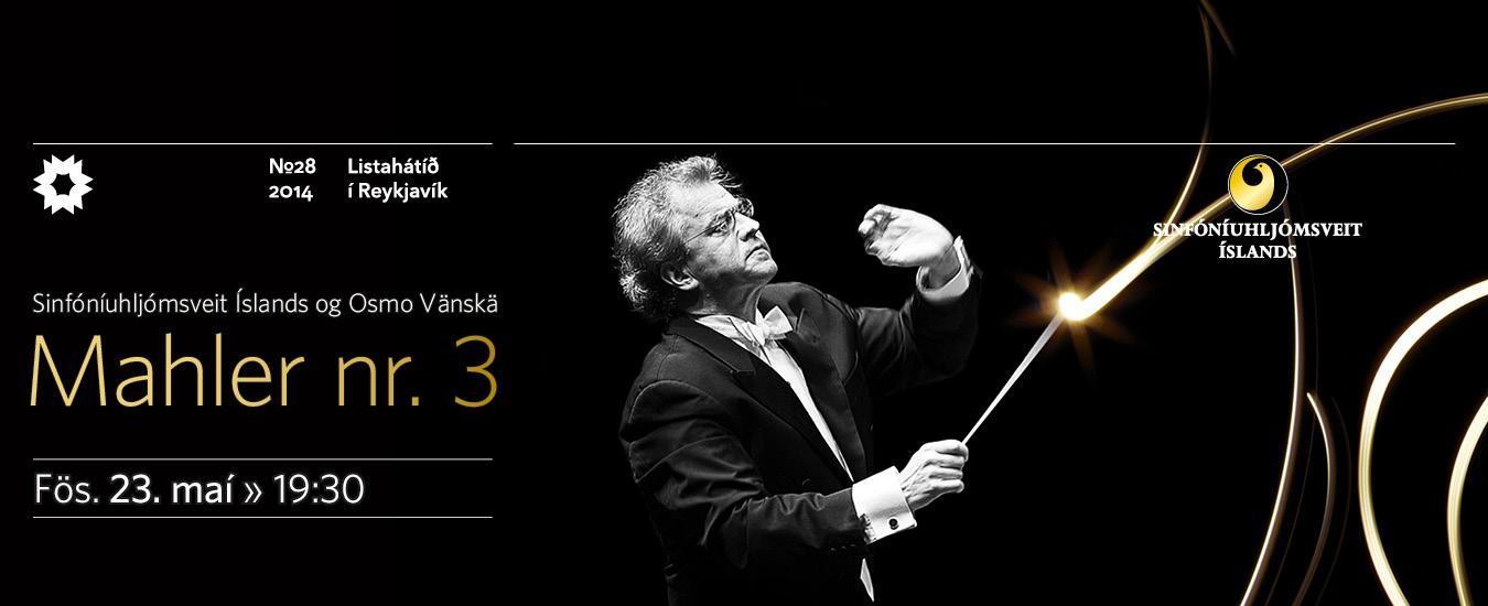 3. Sinfónía Gustav Mahlers með Sinfóníuhljómsveit Íslands